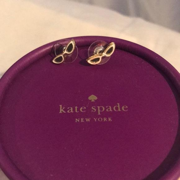 kate spade Jewelry - Kate Spade eyeglasses earrings